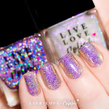 35 Girls Night Essentials To - best holographic nail polish beautiful colors live love polish