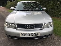 2001 audi a4 1 9 tdi diesel manual full service history long mot