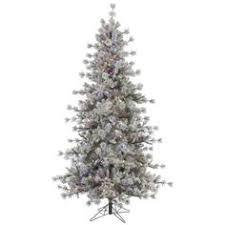 artificial christmas trees multi colored lights balsam 7 5 green fir artificial christmas tree with 800 led multi