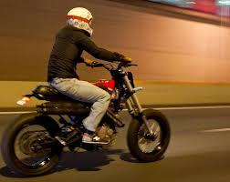 honda dominator faves honda nx650 scrambler u2013 bikebound