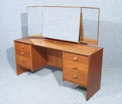 Retro Modern Desk This Is A Wonderful Vintage Retro Stag Teak Dressing Table Desk By