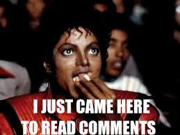 Meme Comments - read the comments popcorn gifs know your meme