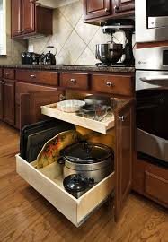 Kitchen Cabinet Drawer Guides Outstanding Roll Out Cabinet Shelves With Side Mount Full
