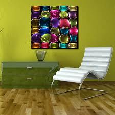 Modern Art Wohnzimmer Qcart Farben Bunte Glasmalerei Gemälde Auf Leinwand Moderne