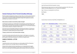 sample farewell letter 9 docs for word and pdf
