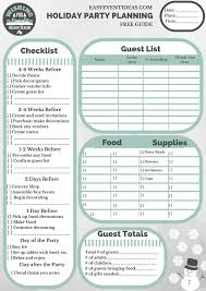 Thank You Note After Dinner Party - free holiday party planning guide u2013 easy event ideas