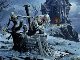 the background of halloween devil u0027s night of halloween spooky pinterest wayne reynolds