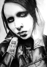 marilyn manson by dark4light on deviantart