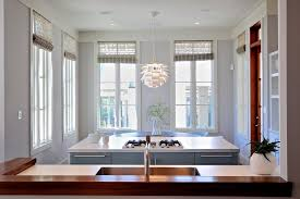 modern trim molding crown molding in kitchen kitchen modern with woven roman shades