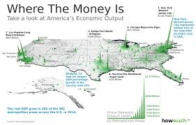 Houston Map Usa by This 3d Map Visualizes The U S Economy In A New Way