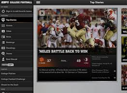 espn app android espn college football app for iphone and android sports