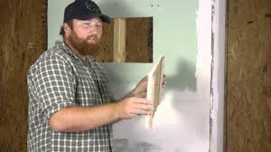 how to build drywall u0026 wood trim access panels repairing walls