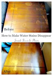 trashtastic tuesday how to remove water stains from wood