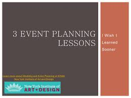 New York College Of Art And Design 3 Event Planning Lessons I Wish I Learned Sooner Nyiad New York Ins U2026