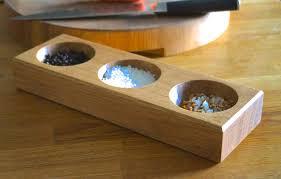 bespoke wooden salt and pepper bowls makemesomethingspecial