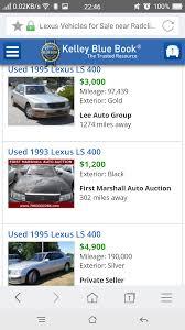 lexus thailand second hand 1994 lexus ls400 45 000 km thailand motor forum thailand forum