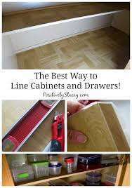 what is the best liner for kitchen cabinets the best way to line cabinets and drawers this is how i