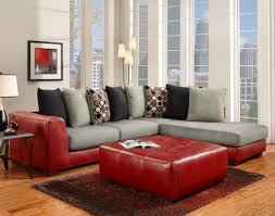 Red Living Room Chair Affordable Furniture 6351 6352 6355sred Sierra Red 2 Piece