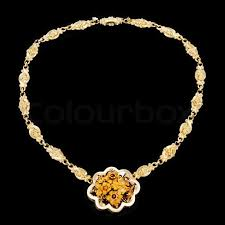 golden jewelry necklace images Gold jewelry necklace stock photo colourbox jpg