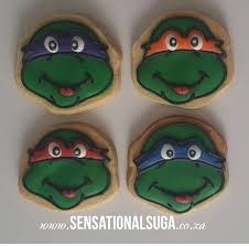 Ninja Turtle Meme - ninja turtle face iced cookies sensational suga