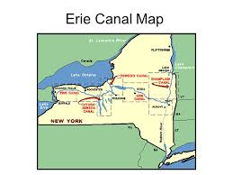 map of the erie canal by mr griffin goal for today become familiar with facts about