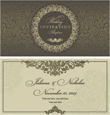 wedding invitations vector editable wedding invitations free vector 3 697 free