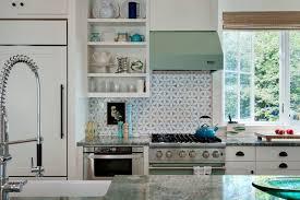 traditional backsplashes for kitchens copper tile backsplash kitchen style with cup drawer pulls