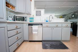 what of paint to use inside kitchen cabinets how to paint your kitchen cabinets the easy way the steve