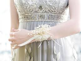 wrist corsage for prom wrist corsage pearls wedding accessory for mothers