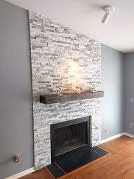 fireplace ideas with stone best 25 stone fireplace makeover ideas on pinterest fireplace