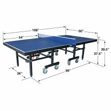 ping pong table playing area ultimate buying guide for a good ping pong table in 2018 top10table