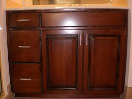 furniture refinishing oak bathroom cabinets dark stain color with