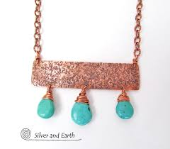 jewelry statement necklace images Turquoise copper statement necklace bold exotic cleopatra jpg