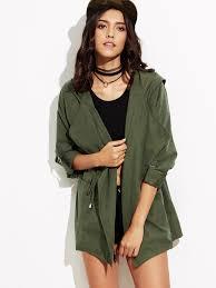 women s coats winter trench faux fur coats romwe
