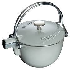 black friday cast iron cookware amazon staub cast iron 1 qt round tea kettle visual imperfections