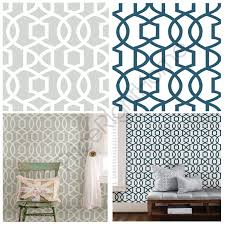 nuwallpaper grand trellis peel u0026 stick wallpaper grey u0026 navy wall
