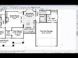 Architectural House Plans by Chief Architect Quick Tip Tracing Over A Floor Plan Youtube