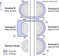 Mci Airport Map Dallas Airport Map Images
