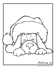 christmas printables puppy coloring pages christmas puppy