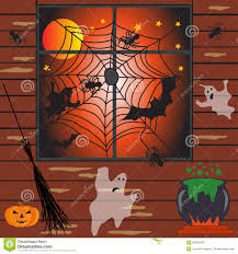 halloween haunted house vector illustration stock vector image