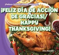 feliz día de acción de gracias happy thanksgiving gareth