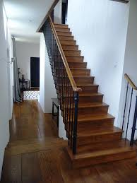 dark oak staircase and flooring the west sussex antique timber