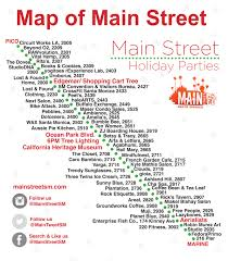 Main Street Lighting Holiday Events 2014 Venice Sign Lighting Abbot Kinney Holiday