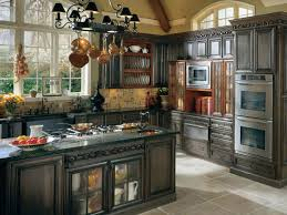 french country kitchen lighting french country kitchen cabinets cream color granite countertop