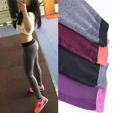 new women yoga clothing sports pants legging tights workout sport