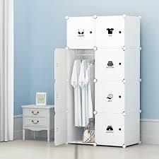 clothes closet wardrobe by kousi freestanding storage organizer