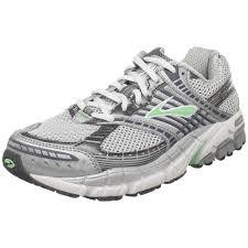 Comfort Running Shoes Amazon Com Brooks Women U0027s Ariel Running Shoe Green Ash Pavement