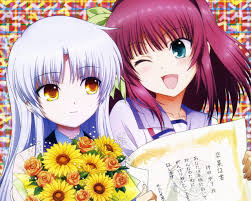 angel beats anime angel beats kanade tachibana yuri nakamura wallpaper