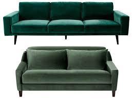 canapé velours bleu canapé en velours entre vert et bleu notre cœur balance joli place