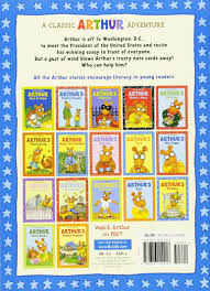 thanksgiving chapter books arthur meets the president an arthur adventure arthur adventure
